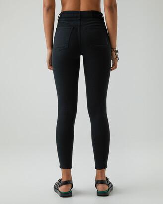 Neuw Women's Black Straight - Smith Skinny - Size One Size, W24/L30 at The Iconic