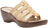 Eastland Leather Wedge Sandals - Topaz