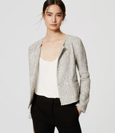 LOFT Petite Edged Tweed Jacket