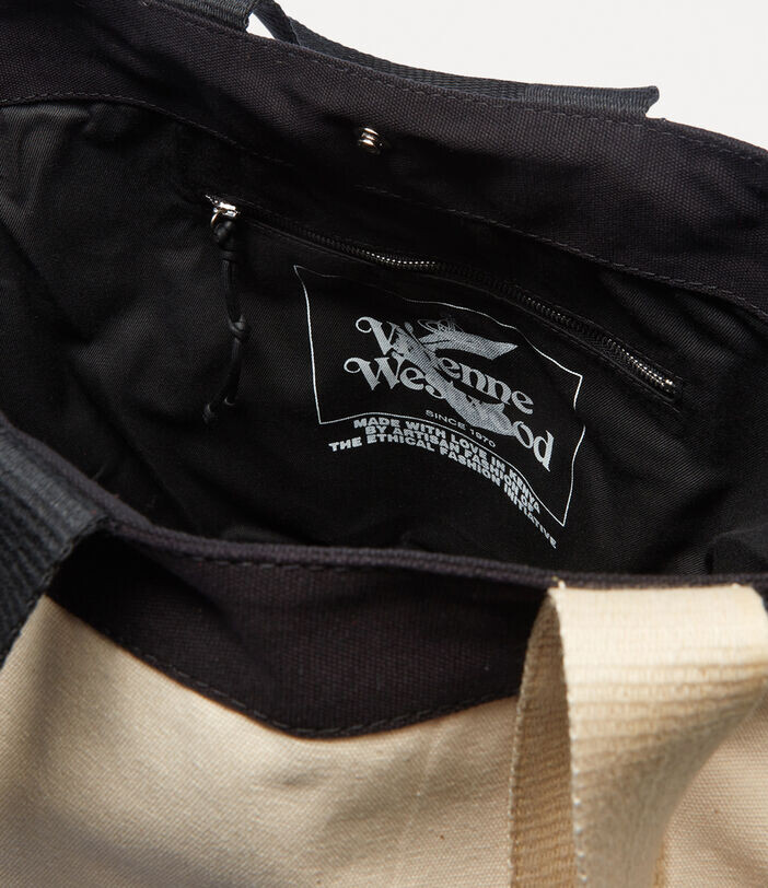 Thumbnail for your product : Vivienne Westwood Worker Runner Holdall Green/Beige