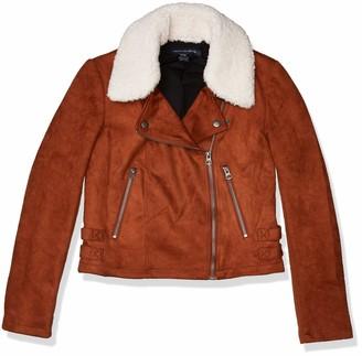 French Connection Women's Faux Fur Coat