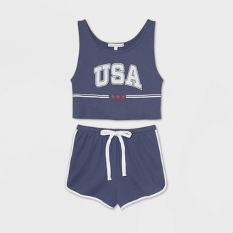 "Grayson Threads Women's ""USA"" Pajama Set"