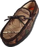 Northern Trail - Mens Realtree Camouflage Moccasin Slipper, Camo Brown 39670