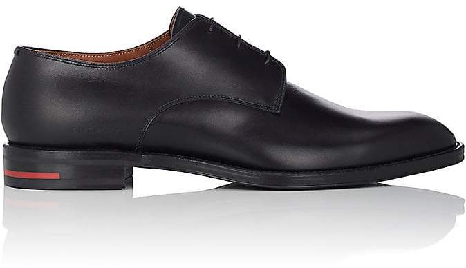 Givenchy Men's Leather Plain-Toe Bluchers