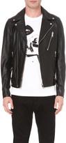 Diesel L-Beck leather biker jacket
