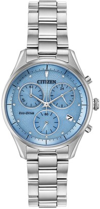 Citizen Eco-Drive Women's Chandler Stainless Steel Chronograph Watch - FB1440-57L