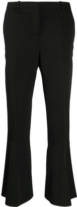 Versace Ankle-Length Flared Trousers