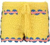Moschino Embroidered Cotton-Blend Shorts