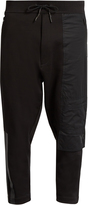 Y-3 FT cropped cotton track pants