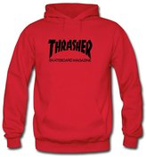 Pop Classic Thrasher Skate Mag Hoodies Pop Classic Thrasher Skate Mag For Boys Girls Hoodies Sweatshirts Pullover Tops