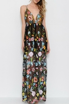 LIFTED Boutique Embroidered Maxi Dress