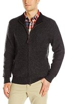 Pendleton Men's Shetland Zip-Front Sweater