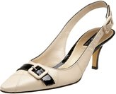 Anne Klein Women's Hastobe Leather Ankle-High Leather Pump - 9M