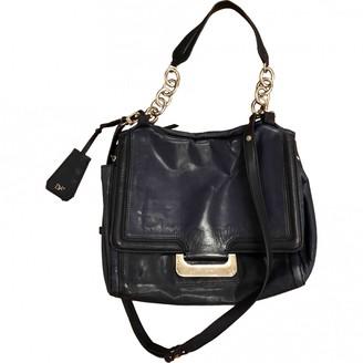 Diane von Furstenberg Navy Leather Handbags