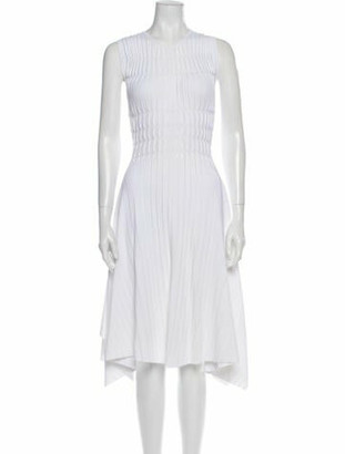Narciso Rodriguez 2018 Midi Length Dress w/ Tags White