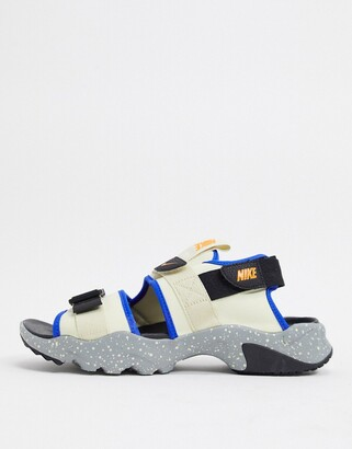 Nike Canyon sandals in sand