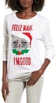 Ten Sixty Sherman Women's Feliz Nah I'M Good Intarsia Sweater