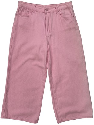 Lazy Oaf Pink Cotton Jeans for Women
