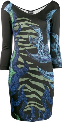 Just Cavalli Animal-Print Dress