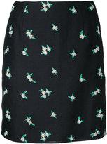 CITYSHOP daisy embroidered skirt - women - Linen/Flax/Polyester/Rayon - 36