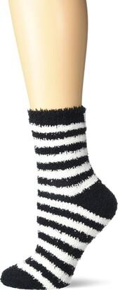 Karen Neuburger Women's Fuzzy Soft Crew Sock