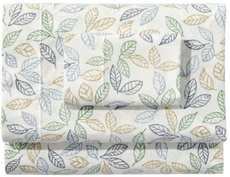 L.L. Bean Tossed Leaves Percale Sheet Collection