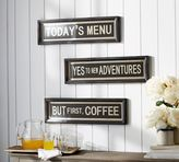 Pottery Barn Vintage Quote Sign