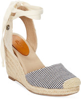 Roxy Bolsa Chicka Tie-Up Espadrille Wedges