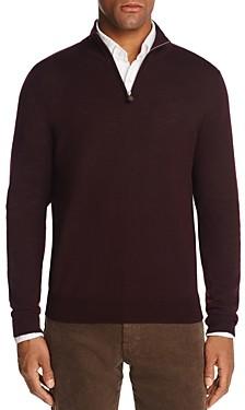 The Men's Store at Bloomingdale's Quarter-Zip Merino Sweater - 100% Exclusive