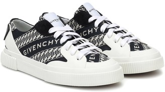 Givenchy Urban Street jacquard canvas sneakers