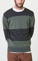 RVCA Men's Block Plate Crew Sweater