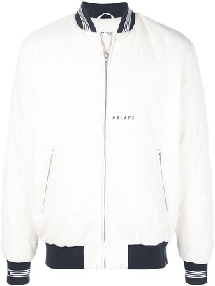 Palace Quilted Padded Bomber Jacket