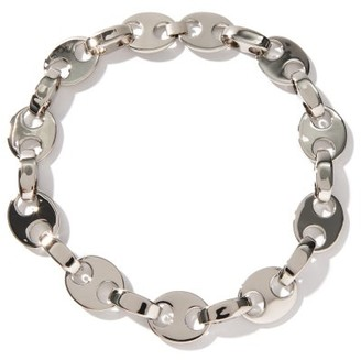 Paco Rabanne Eight Chain Choker Necklace - Silver