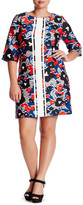 Taylor Floral Scuba Shift Dress (Plus Size)