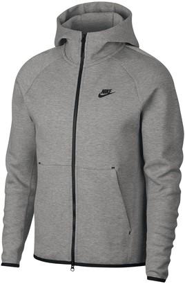 Nike Tech Fleece Zip-Up Hoodie in Cotton Mix
