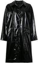 Belstaff Abourne high shine vinyl coat
