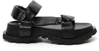 Jil Sander Outdoor Platform Sandals