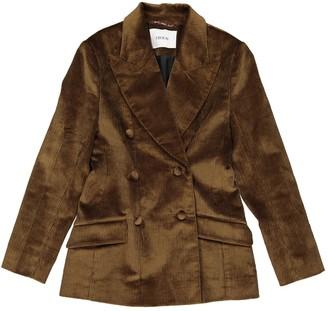 Erdem Khaki Velvet Jackets
