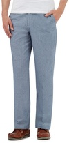 Maine New England Blue Tailored Fit Trousers