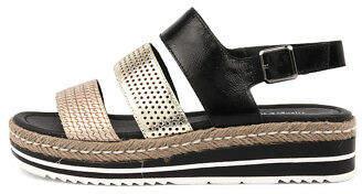 Django & Juliette New Akidna Womens Shoes Casual Sandals Heeled