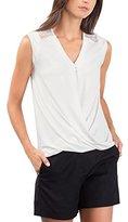 Esprit Women's 086EO1K008 T-Shirt, White (OFF WHITE)