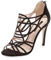 Ava & Aiden Maelee Cut-Out Leather Sandal