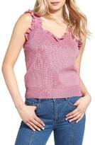 Sjyp Women's Frill Knit Tank