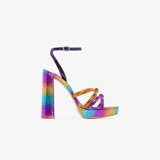 Sophia Webster Rainbow freya 125 platform sandals