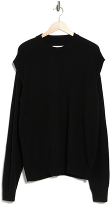 Maison Margiela Cutout Sleeve Sweater