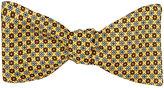Barneys New York Men's Floral Silk Twill Bow Tie-YELLOW