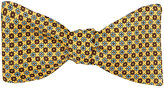 Barneys New York Men's Floral Silk Twill Bow Tie