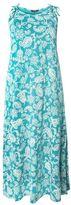 Evans Green Paisley Print Maxi Dress