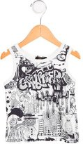Junior Gaultier Boys' Printed Sleeveless Shirt