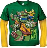 Freeze Green & Yellow 'TMNT' Layered Top - Boys